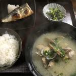 ひろ - 料理写真:貝汁定食=700円 税込