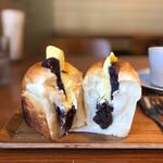 タロ コーヒー - あんバタートースト