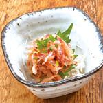 盛岡CHUBOはっぴ - 桜海老のお刺身
