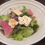 ステーキ池田 - サラダ