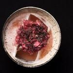 マンダリンバー - 料理写真:オリジナルカクテル「大桜」。