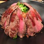 佰食屋 - ステーキ丼並 ¥1000