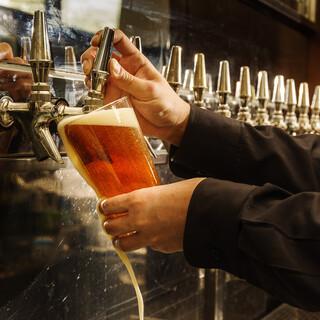 ビール好き必見!こだわりのクラフトビールをぜひ。