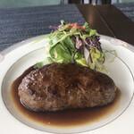 山の洋食屋 フレール - 赤牛ハンバーグ¥1,780