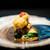 エクアトゥール - 料理写真:ブリオッシュ 伊勢海老とお肉で、 エポワスチーズをサンド ベアルネーズソース、 フォンドボー