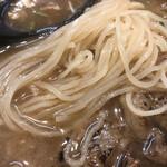 ガガナ ラーメン - 麺アップ