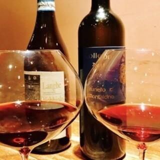 肩肘張らずに楽しむ。イタリア料理と自然派ワインのハーモニー。