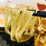 127068802 - 小麦の香る、シコッとした歯応えのある素晴らしい麺です。