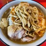 蒙麺 火の豚 - ワシワシ麺