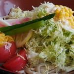 小川家 - サラダうどん