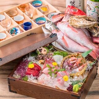 金沢中央卸売市場から直送!北陸近海の旬魚を始めとした食材