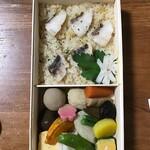菓子舗 日影茶屋 - ご飯は鯛めし