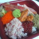 丼の丼丸 - オホーツク丼(525円)