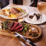BISTRO BROOK KITCHEN(熟成肉ビストロ) - Weekendランチコース