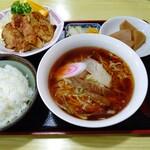 中華 たむら - 【2020.3.9(月)】みそ焼きセット(並盛)1,100円