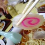 中華 たむら - 【2020.3.9(月)】醤油ラーメンのナルト