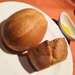 イルバンカーレ - パスタについて来るパン