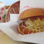 モスバーガー - 【カレーチキンバーガー】