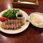 お肉とワイン 関内ビストロ ZIP - 牛レアカツレツ