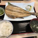 127099804 - ランチ焼魚 ホッケ