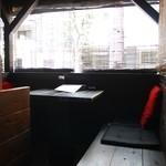 トゥーレドゥーレ - テラス席はペットOK