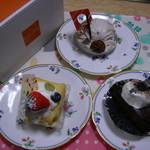 プレヴェール - (=^・ェ-^=)-☆ケーキ達 ('12/04/29)