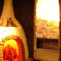 海峡 - 暖炉のオブジェが印象的