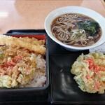 そば処 吉野家 - 天丼セット税込み940円