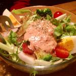 じんりき厨房 - 野菜サラダ