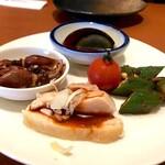 山哲 - 料理写真:ランチコース(前菜盛り合わせ)