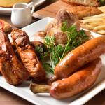 キーズカフェ - 肉3種