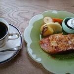 ショパン - 料理写真:ブレンド フレンチトーストセット