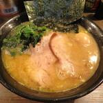クックら - ラーメン 720円 味付玉子 100円