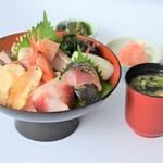 レストラン 海幸苑 - 近海丼!!小浜港直送のスペシャル海鮮丼です!!