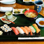 多津美寿し碁点 - 料理写真:ランチ ¥1100