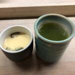 鮪喜 - ランチについてくる茶碗蒸し