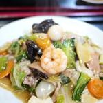 鳳華 - 料理写真:五目焼きそば 600円