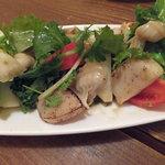 12714820 - タイラギ貝炙りのサラダ