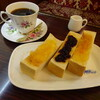 Burutorein - 料理写真:コーヒーカップが華やか