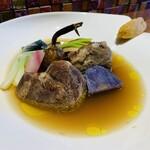 ダ フラーチェ - 牛頬肉の煮込みナポリスタイル