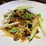 ダ フラーチェ - いろいろ野菜アンチョビ柚子胡椒のスパゲッティ