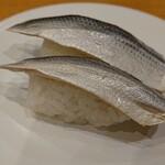 廻鮮寿司しまなみ  - 料理写真:こはだ