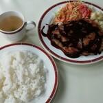 レストラン・テル - ビクトリアカツ(ライス&スープ付) 400円