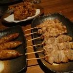たつ川 - 串焼き