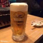 珍牛 - 生ビール