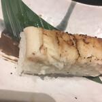 そば屋でござる - セットの穴子寿司