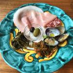 ピッツェリア ナポレターナ ラルデンツァ - 前菜 500円+税