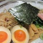 乙麺造場 - 「鴨汁つけめん(\680)」の麺皿アップ。