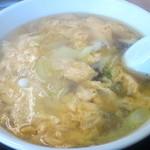 ゆうき食堂 - 玉子スープ