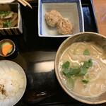おうち - 利休うどん定食(1000円)